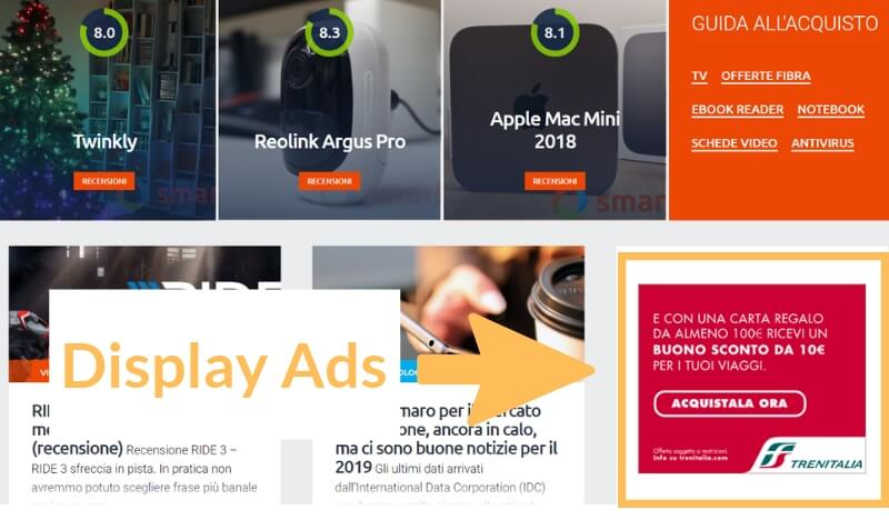 annuncio google ads display